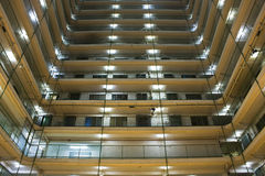 Hong Kong public housing apartment block Stock Photo