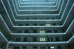 Hong Kong public housing apartment block Stock Images
