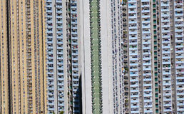 Hong Kong public housing Royalty Free Stock Photos