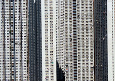 Hong Kong public housing Royalty Free Stock Photo
