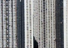 Hong Kong public housing Royalty Free Stock Photo