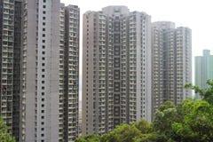 Hong Kong public housing estate Royalty Free Stock Image