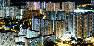 Hong Kong public housing Royalty Free Stock Images