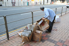 Hong Kong Ragpicker person Stock Photos
