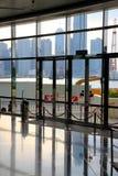 Hong Kong regel och utställningmitt Arkivbild