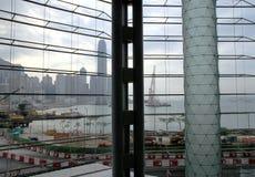 Hong Kong regel och utställningmitt Arkivfoto
