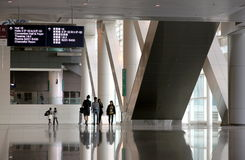 Hong Kong regel och utställningmitt Fotografering för Bildbyråer