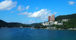 Hong Kong Repulse bay beach. Royalty Free Stock Photo