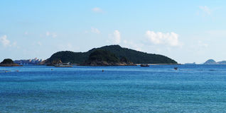 Hong Kong Repulse bay beach. Royalty Free Stock Photos