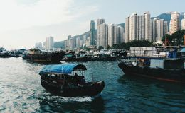 Hong Kong resande Royaltyfri Bild