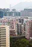 Hong Kong Residential Area Royalty-vrije Stock Fotografie