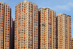 Hong Kong residential building Royalty Free Stock Images