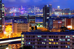 Hong Kong residential district Stock Images