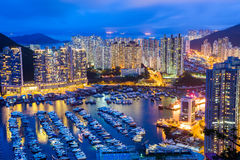 Hong Kong residential district Royalty Free Stock Photos