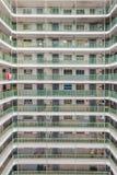 Hong Kong Residential gammalt arkitekturgods, Kina arkivbild
