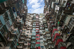 Hong Kong Residential liso fotografia de stock royalty free