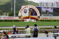 Hong Kong Reunification Raceday Royalty Free Stock Photo