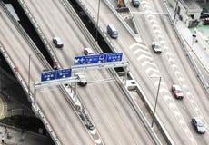 Hong Kong road Royalty Free Stock Photo