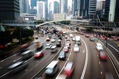 Hong kong ruchliwie miasto Obraz Stock
