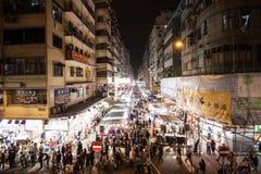 hong kong ruchu Obraz Royalty Free