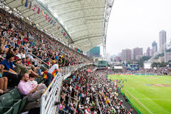 Hong Kong Rugby Sevens 2014 Royalty-vrije Stock Afbeelding