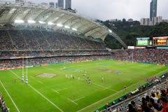 Hong Kong Rugby Sevens 2014 stock images