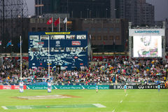 Hong Kong Rugby Sevens 2014 Royalty Free Stock Photography