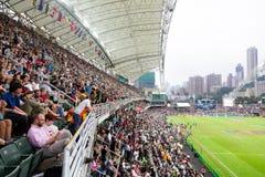 Hong Kong Rugby Sevens 2014 Royalty Free Stock Image