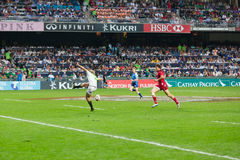 Hong Kong Rugby Sevens 2014 Stock Photos