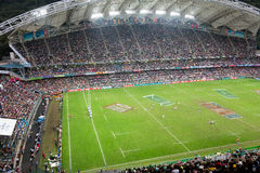Hong Kong Rugby Sevens 2014 Royalty Free Stock Photos