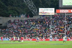 Hong Kong Rugby Sevens 2014 Stock Photo