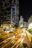 Hong Kong rusar Fotografering för Bildbyråer
