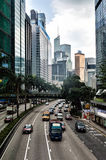 Hong Kong Rush Hour Traffic Stock Images