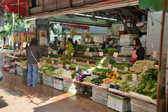 hong kong rynku Zdjęcie Stock