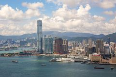 Hong Kong S A r , China - 22 de setembro de 2017: ICC - International Foto de Stock