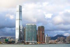 Hong Kong S A r , China - 24 de setembro de 2017: ICC - International Imagens de Stock