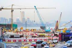 Konstruktionsplats i HK Arkivbild