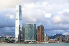 Hong Kong S a r , la Chine - 24 septembre 2017 : ICC - International Images stock