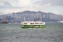Hong Kong S a r , la Cina - 24 settembre 2017: Il traghetto della stella è f Immagine Stock Libera da Diritti