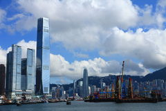 Hong Kong's Skyline Stock Photography
