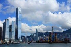 Hong Kong's Skyline Stock Photography