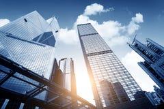 Hong Kong's skyscrapers Royalty Free Stock Photography