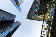 Hong Kong`s skyscrapers Stock Photos