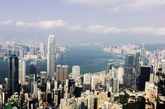 Hong kong s victoria harbour Stock Photos