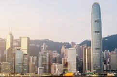 Hong Kong`s Victoria Harbour Royalty Free Stock Photos