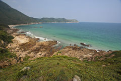 Hong Kong Sai Kung beautiful beach Royalty Free Stock Photography