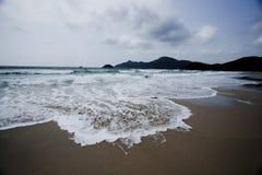 Hong Kong Sai Kung beautiful beach royalty free stock images