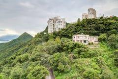Hong Kong, SAR China - circa July 2015: Private Mansions at Victoria Peak, Hong  Kong Royalty Free Stock Images