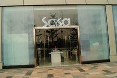 Hong Kong Sasa na zona de comércio livre de Qianhai Imagem de Stock Royalty Free