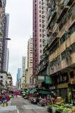 hong kong sceny ulica Obraz Stock